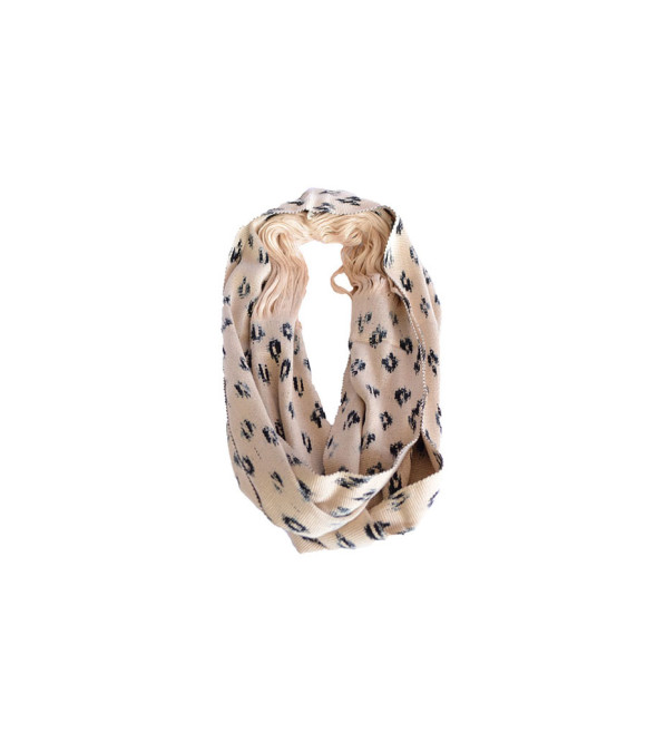 _0008_Ikat Rounded Scarf Beige Prymal website
