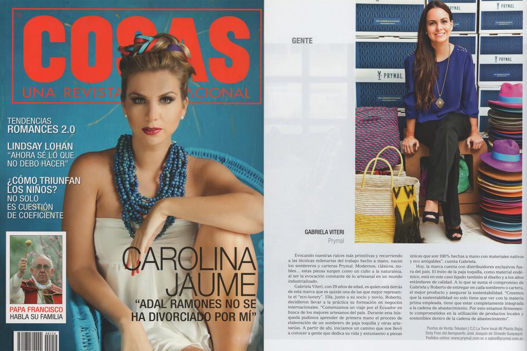 Revista Cosas – Apr 2013