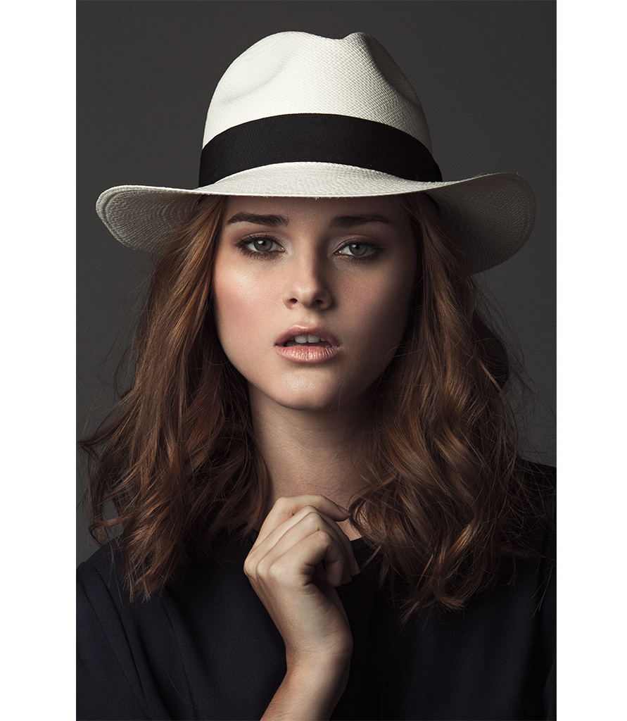efd4f923de5a8 Classic Fedora White by G.VITERI - The most instagrammable straw hats
