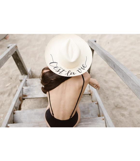 C'est la vie customizable hat