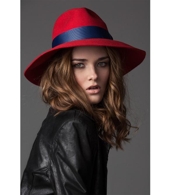 prymal, panamahat, hats, felt, red