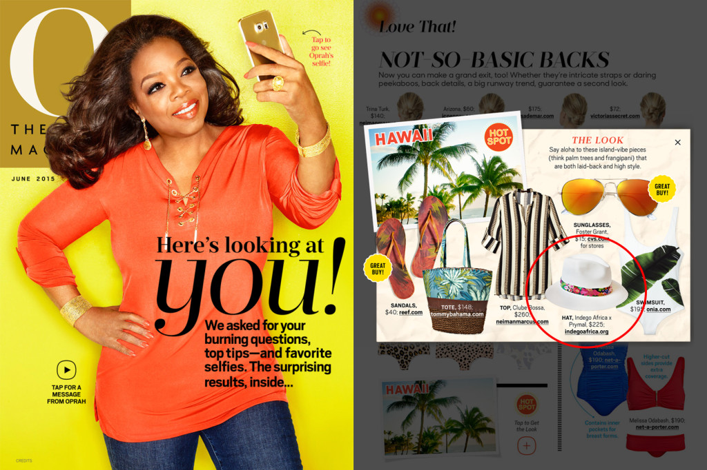 """O"" The Oprah Magazine – Jun 2015"