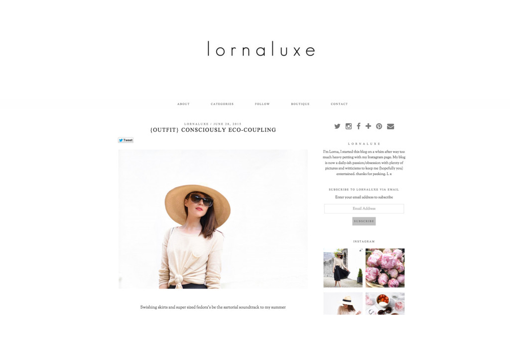Lorna Luxe – Jun 2015