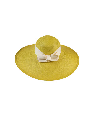 Amalfi Electric Lime Hat by G.Viteri