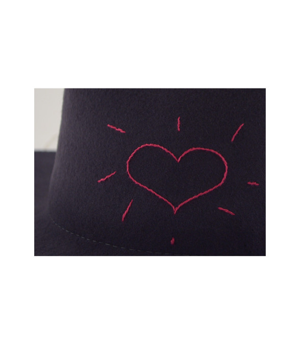 Felt Shade Love Hat