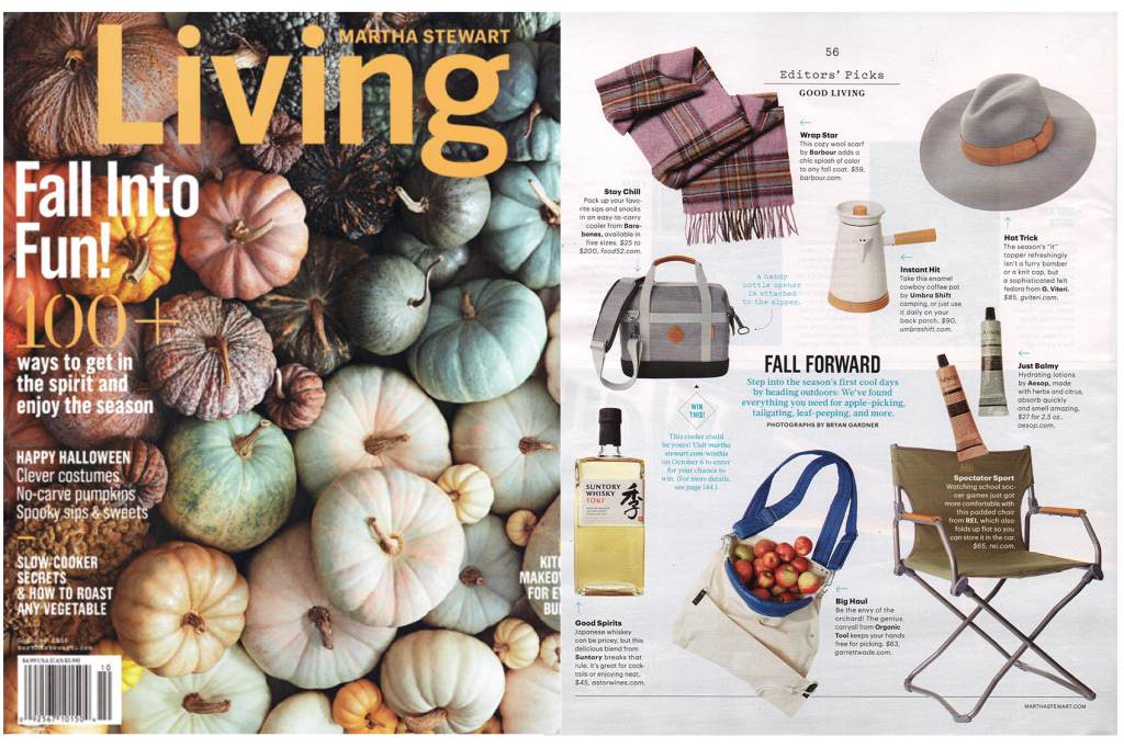 Martha Stewart Living – Oct 2016