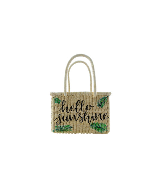 Hello sunshine mini basket