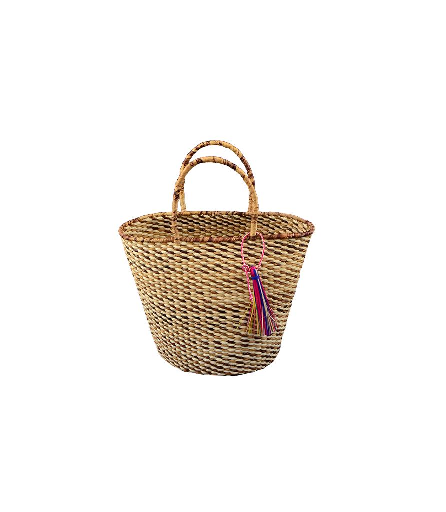 c24e3cb88059 Petite Oval Straw Basket by G.VITERI - Instagram worthy straw bags