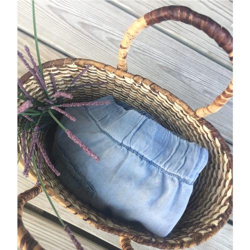 Petite Oval Basket straw