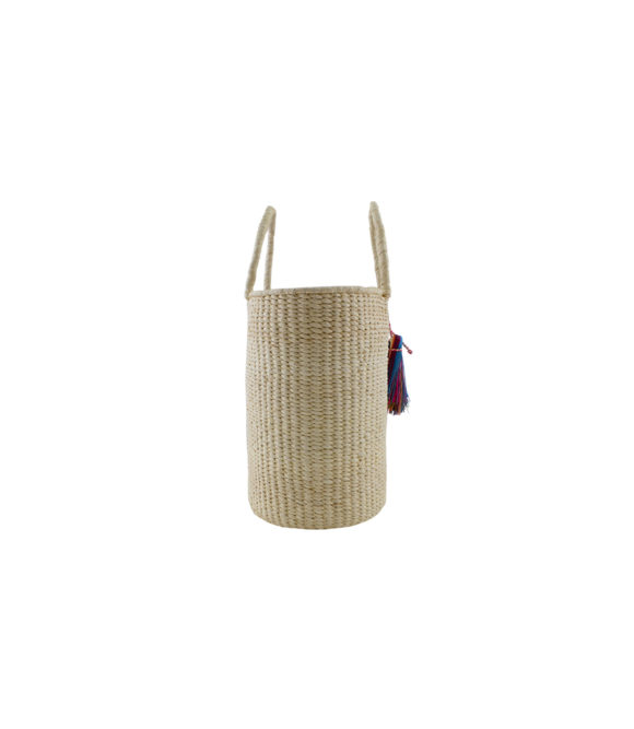 Petite Oval Basket bag side