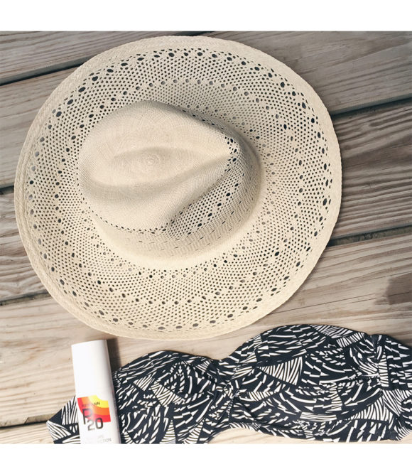 Malibu Shade straw hat