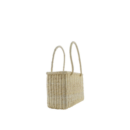 Mini Basket bag light side