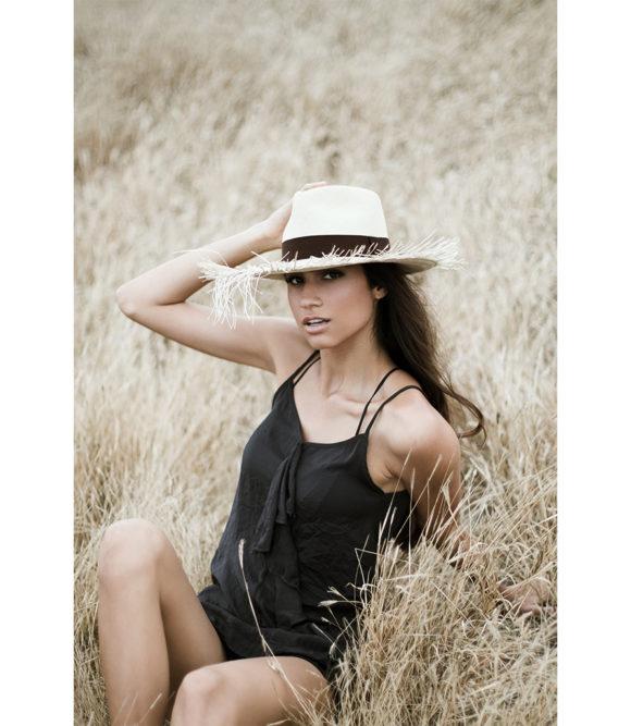 Capri Fringed Hat