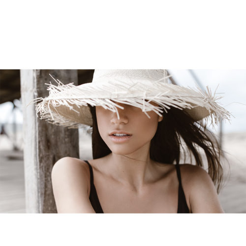 Churro Natural Fringe Hat