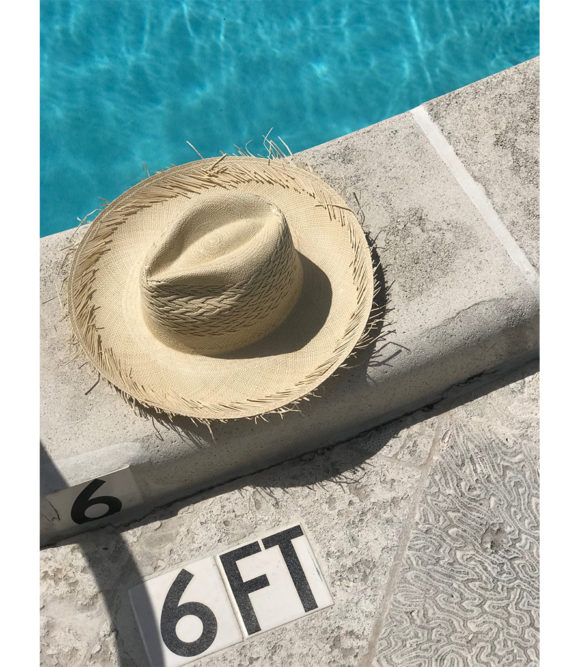 Churro Natural Fringe Hat