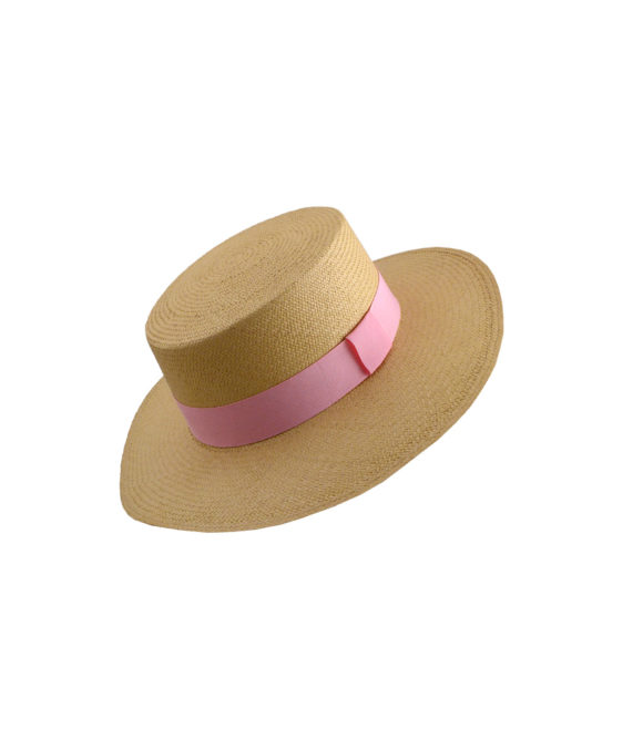 Boater Beige Pink