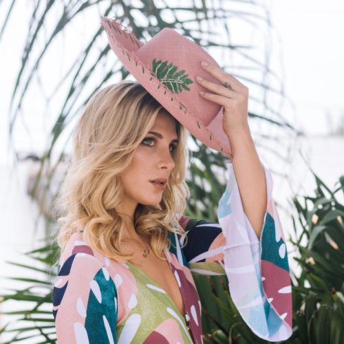 Eva Palm Hat