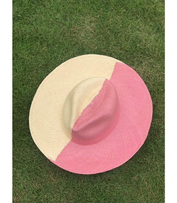 Bicolor Pink Hat