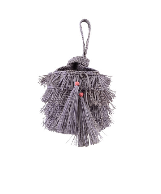 Fringe Bucket Grey