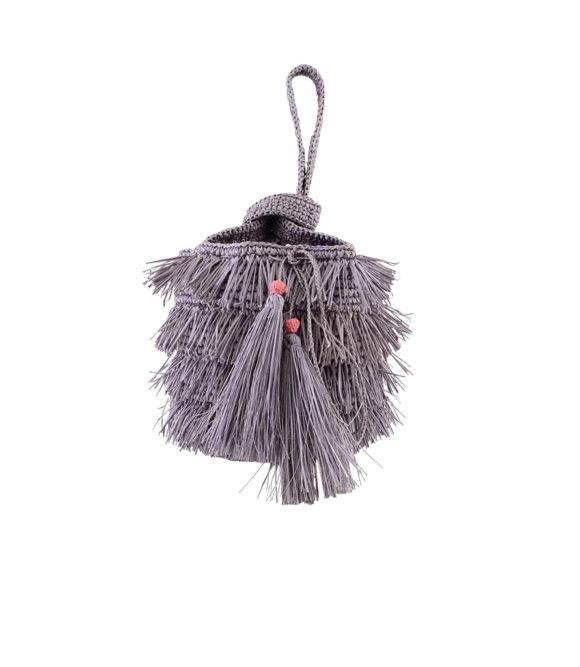 Fringe Bucket Grey