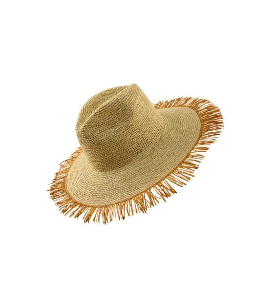 Frayed Bicolor hat