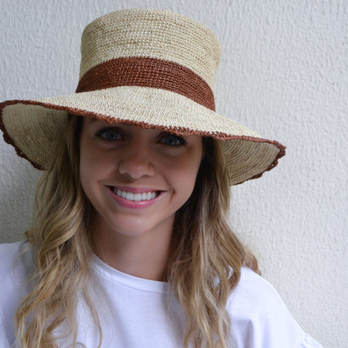 Crochet Bucket Hat with Scalloped Brim