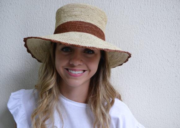 Crochet Bucket Hat with Scalloped Brim