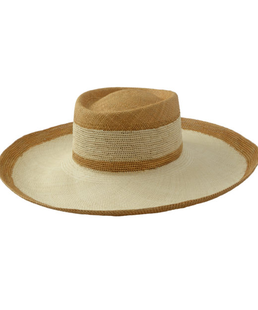 Camel stripes hat
