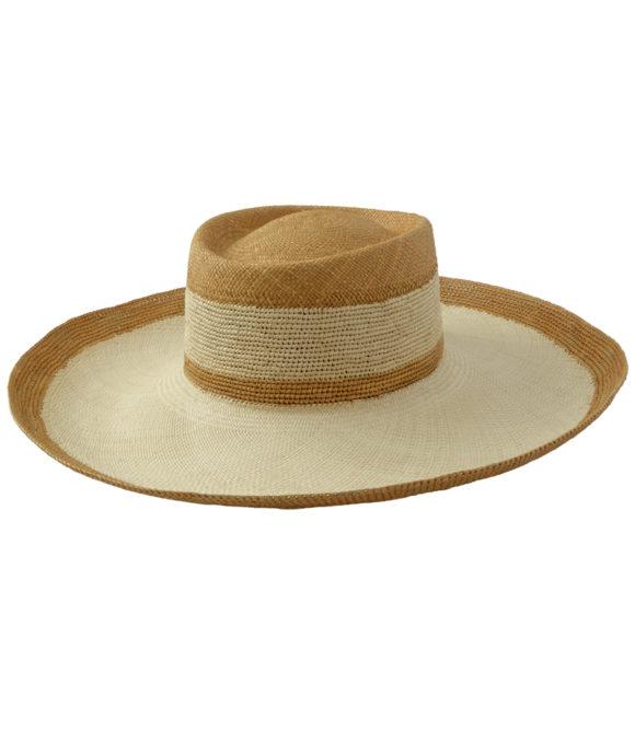 Camel stripes hat