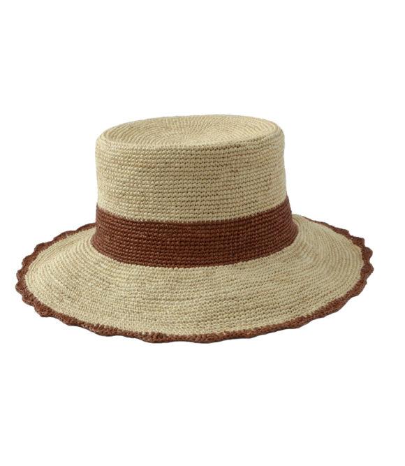 Crochet Bucket Hat with Scallops